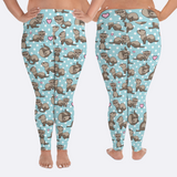Plus Size Ferret Leggings