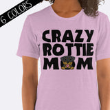 Crazy Rottie Mom Shirt