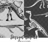 Dinosaur Bones Science Leggings