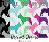 French Bulldog Frenchie Silhouette Dog Breed Leggings