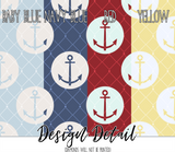 Nautical Anchor Sailor Leggings