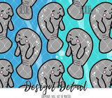 Save the Manatees Leggings