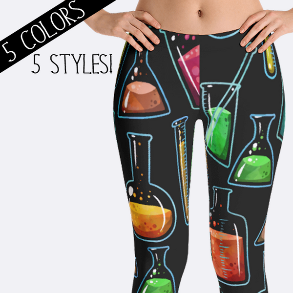Chemistry Science Leggings