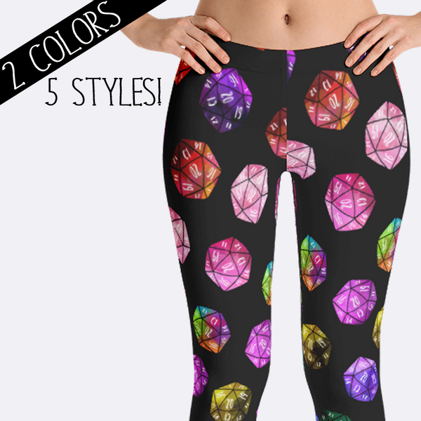 D20 RPG Leggings