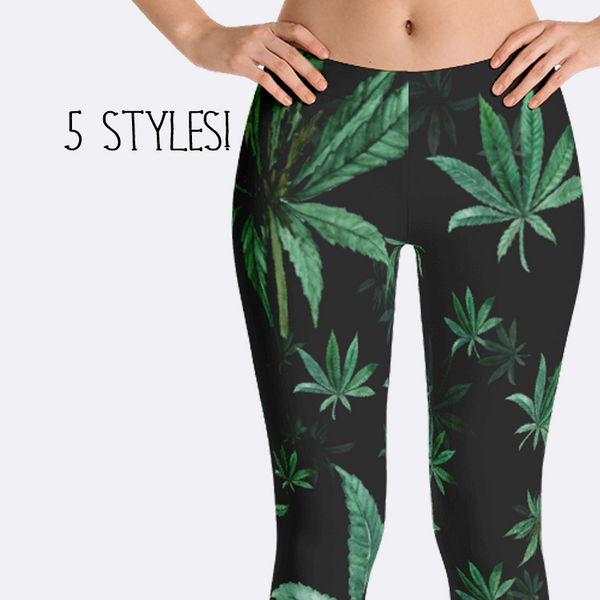 Marajuana Leggings