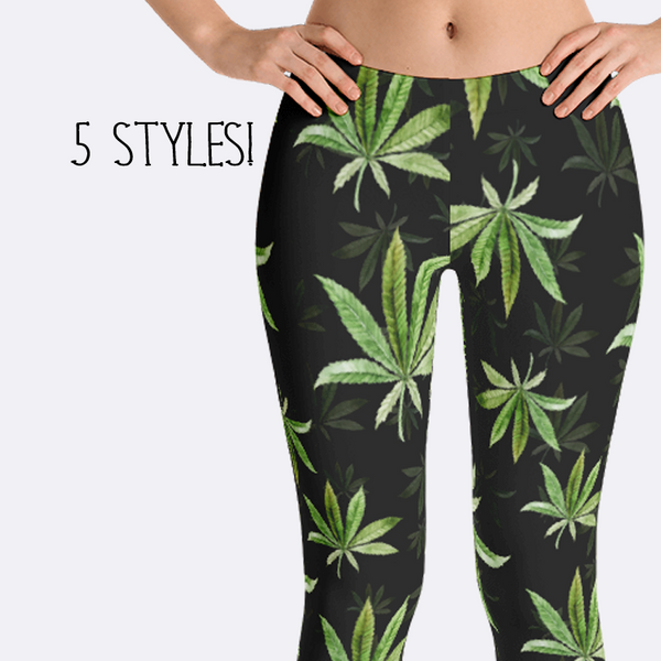 Weed Leggings