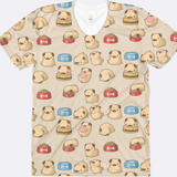 Kawaii Pug All Over Print Shirt