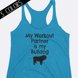 My Bulldog is my Workout Partner Tank Top