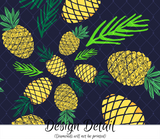 Tropical Pineapples Leggings