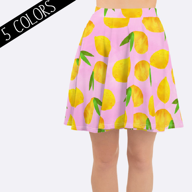 Women's Lemon Skirt