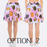 Women's Kawaii Cats Skirt