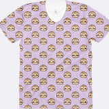 Sloth Head All Over Print Shirt