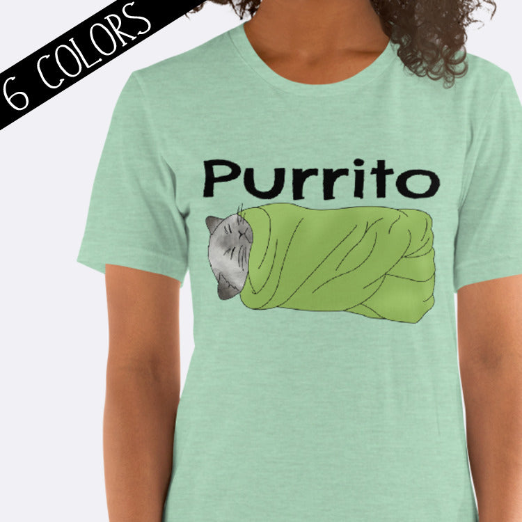 Purrito Cat Burrito Shirt