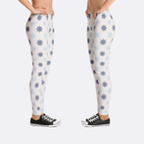 Nautical Sailor Ship Helm Leggings