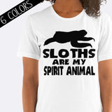 Sloths Are My Spirit Animal Shirt
