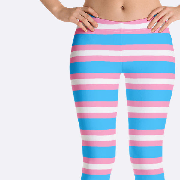LGBTQ Transgender Pride Leggings