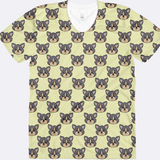 Yorkshire Terrier Yorkie Head All Over Print Shirt