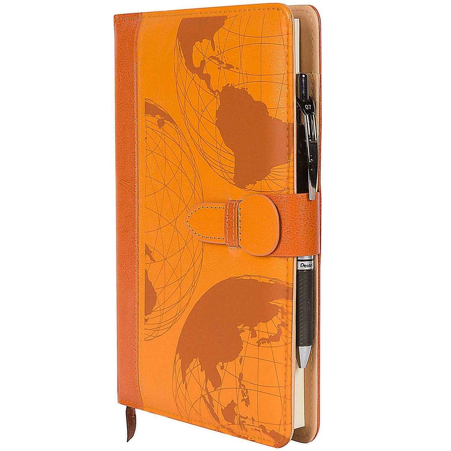 World map refillable writing journal the amazing office world map refillable writing journal gumiabroncs Images
