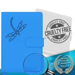 Dragonfly Refillable Writing Journal - Light Blue