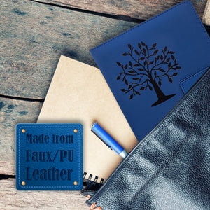 The Tree Of Life Refillable Writing Journal - Blue