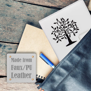 The Tree Of Life Refillable Writing Journal - White