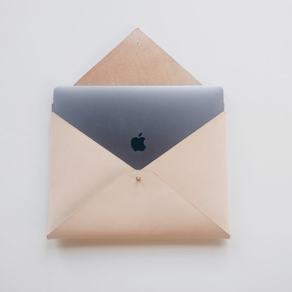 "15"" Macbook Envelope - Natural"