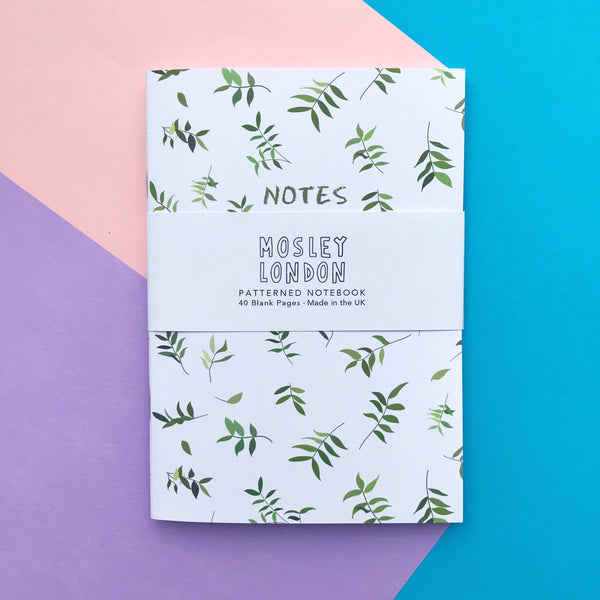 Green Leaves Notebook