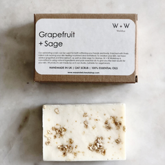 Grapefruit + Sage Soap Scrub