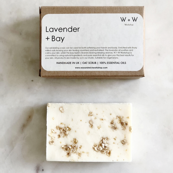 Lavender + Bay Soap Scrub