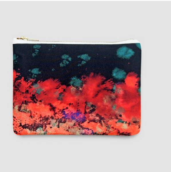 Ingi Silk Clutch Bag