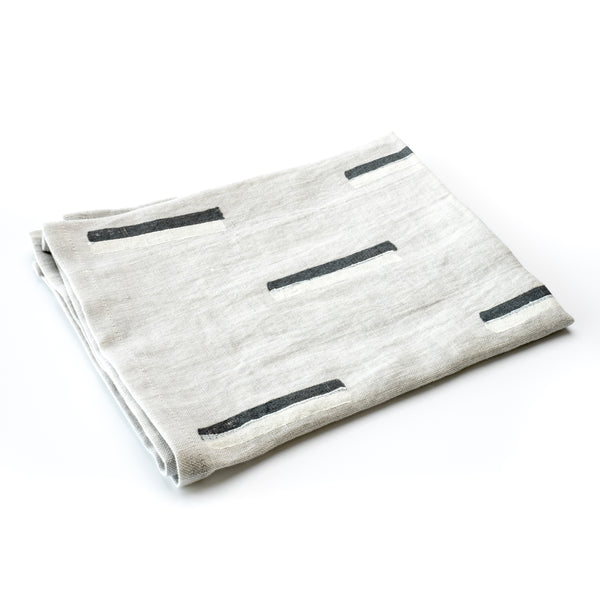 Agnes Linen Towel - Grey