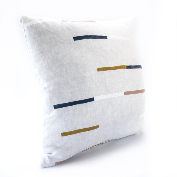 Judd Linen Cushion - grey