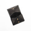 Small Leather Wallet - Black