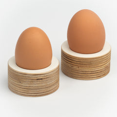 Circle Egg Cups Double