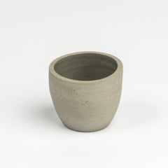 Small ceramic pot - grey