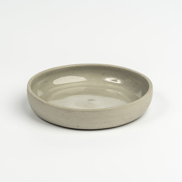Small ceramic plate - grey