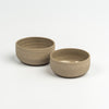 ceramic soya bowl - brown