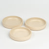 Small ceramic plate - beige