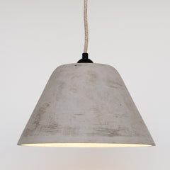 Concrete Conical Pendant Lamp