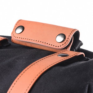 Brown Leather Straps + Handle set