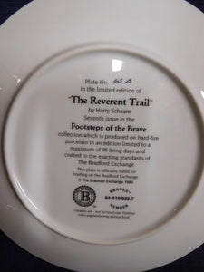 Footsteps of the Brave The Reverent Trail by Harry Schaare