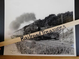 Photo Locomotive #63 Eng. 281-1st Carre Escambia Bay 1950 8 X 10 B&W