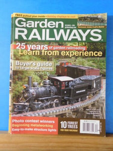 Garden Railways Magazine 2005 December Beginning Metalworking Structure Lights