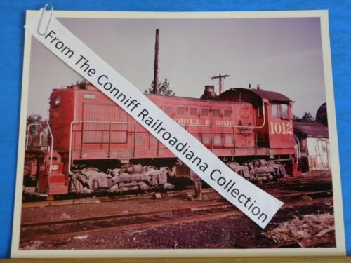 Photo Gulf Mobile & Ohio Locomotive #1012 8X10 Color