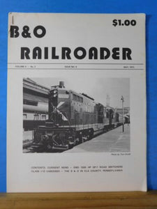 B&O Railroader Magazine #9 May 1973 EMD 1500 HP GP-7 Road Switchers Class 1-12 C