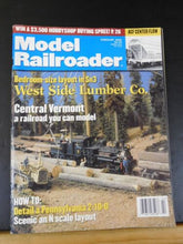 Model Railroader Magazine 2000 February West Side Lumber Co Central Vermont