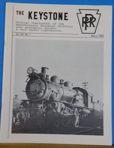 Keystone PRR T&HS Magazine 1981 March Ehrenfeld Track Sweeper