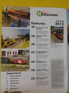 N Scale Railroading #78 2013 July Aug Chessie In New York City