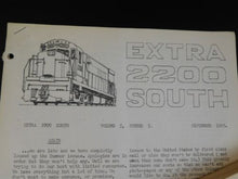 Extra 2200 South 1965 September V5 #5 Passenger Cab Units Road Freight Cab Units