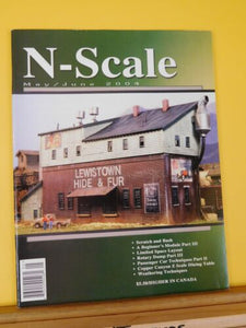 N Scale Magazine 2004 May June Copper Canyon Z Scale Dining Table